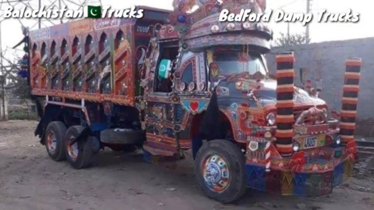 BedFord Rocket Dump Trucks|Beautiful Pakistani Truck Art|Traditional Trucks of Sargodha Punjab.