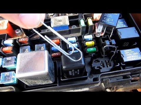 Engage AC Compressor Clutch with a Paperclip on Relay | How to Fix Bypass Won't Engage | Jump Relay