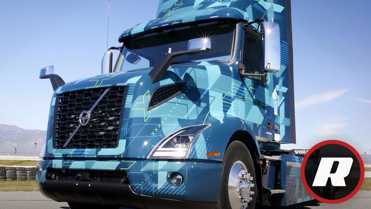 Driving Volvo's electric semi truck