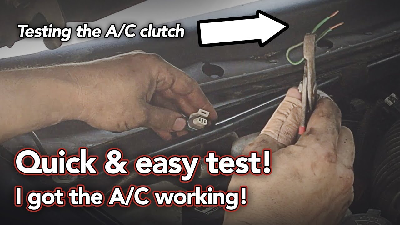 A/C won't work - Easy test, Easy fix - Air Conditioning Clutch Cycling Switch