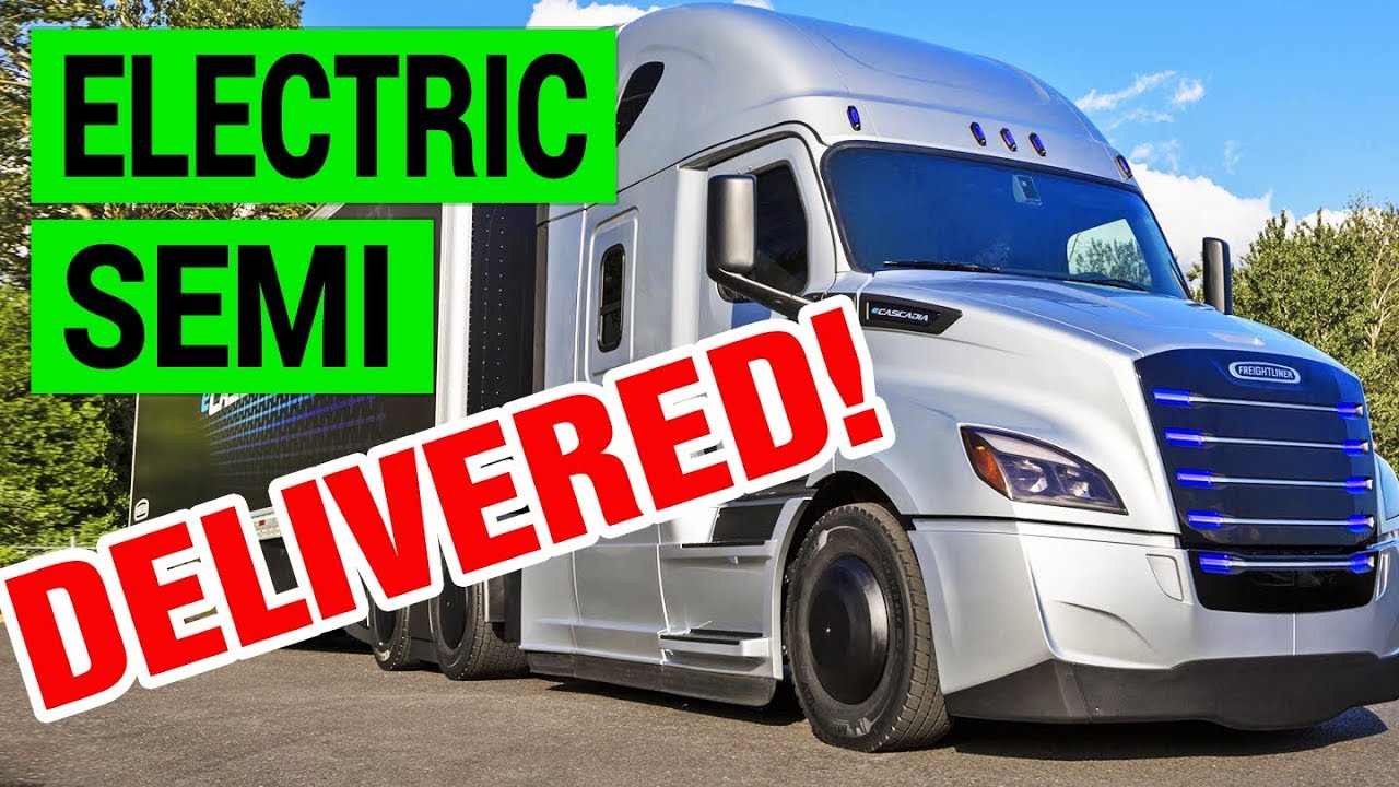 Daimler's Electric Semi Truck Beats Tesla to Market