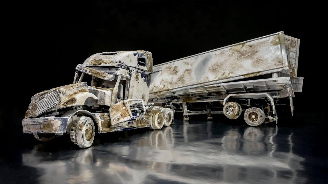 Freightliner Columbia Restoration Abandoned American Truck