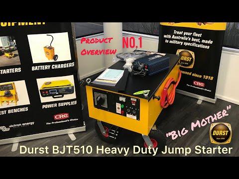 semi truck battery jump starter