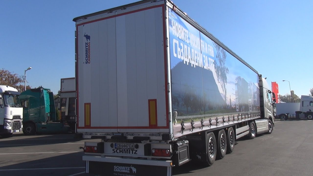 Schmitz Cargobull SCB*S3T Curtainsides Semi-trailer (2021) Exterior and Interior