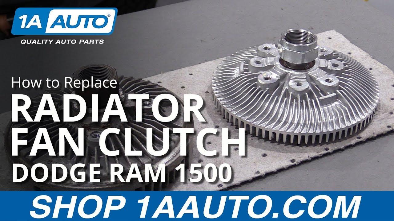 How to Replace Fan Clutch 94-02 Dodge Ram 1500