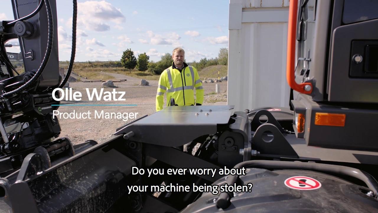 On Site Volvo Excavator Anti Theft System