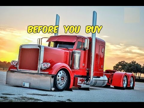 Watch This BEFORE You Buy a Peterbilt Semi Truck