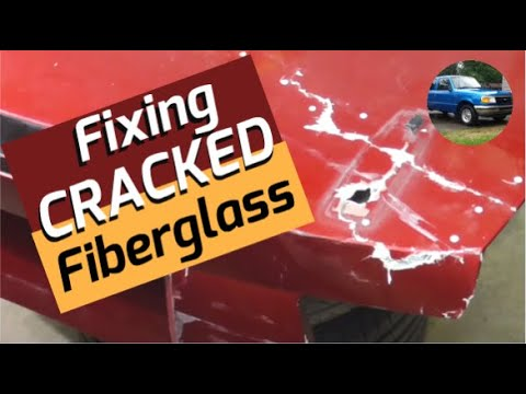 How to Fix | Repair Cracked Fiberglass Auto Body Panels
