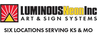Luminous Neon Inc supports the veterans of the Kansas Honor Flight