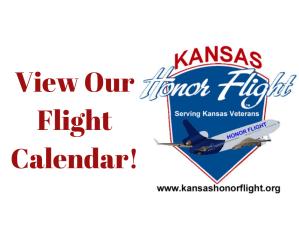 Flight Calendar for Kansas Honor Flight