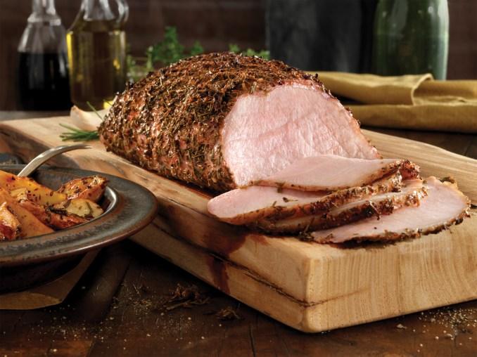 Balsamic Rosemary Pork Loin with Roasted Potatoes | Kansas