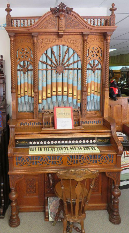 Rheas Pump Organ Museum  Sharon Springs Kansas