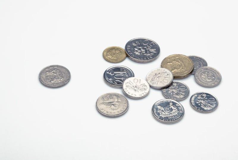 硬貨と小銭