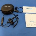 カナル型と耳掛け型の中間の装着感「Bluetoothヘッドセット B03/AIKAQI」レビュー