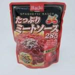 「業務スーパー 神戸物産」レポート ~当たり(ミートソース(285g)/ハチ食品/78円)~