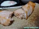 「3つ星 ビストロ NE-BS605/パナソニック」レビュー ~レシピ8 鮭の塩焼き~