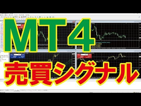 【MT4入門】売買シグナルを表示してみよう!