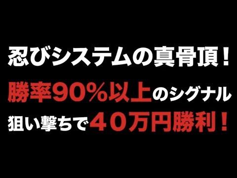 30万円 圧倒的勝利!!!バイナリーシグナルツール