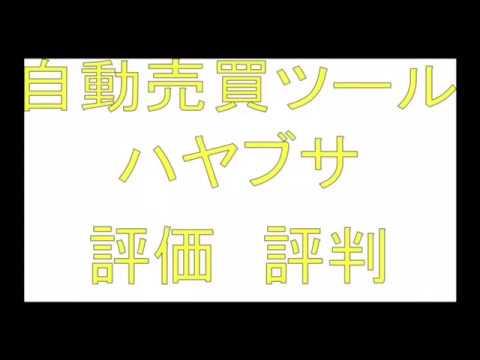 ハヤブサ FX自動売買ツールの評価・評判は!?