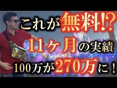 【無料EA】11ヶ月の実績!100万が270万に!?【システムD】