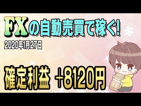 【FX自動売買】日給8000円稼いだ
