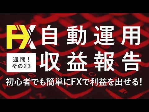 FX自動売買を超安定的にやる方法!収益報告23週目【コロナウイルスにもめげない】