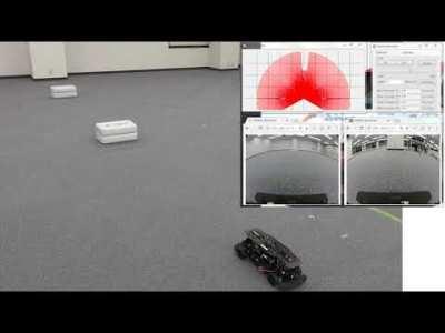 自動運転開発ツールRoboCar110遠隔操作映像