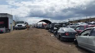 Scrapyards aka Automotive Hellscape (where cars go to die)