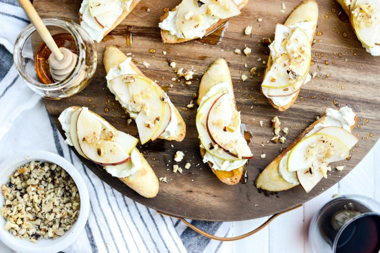 Whipped-Blue-Cheese-Crostini-with-Pears-and-Honey-l-SimplyScratch.com-8