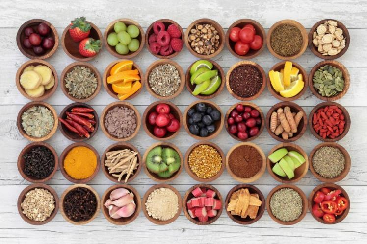 a-selection-of-nutritious-food-in-bowls