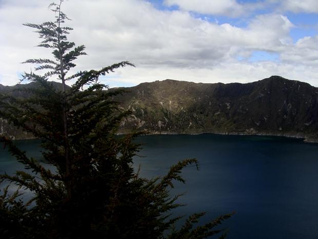 Laguna cráter Quilotoa