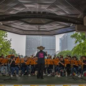 Banda del colegio Gyokusen