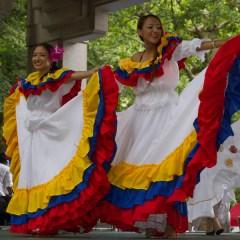 FIESTA DE LA INDEPENDENCIA DE  COLOMBIA EN EL PARQUE HIBIYA DE TOKIO