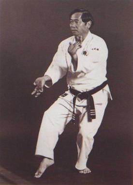 ▲ Sensei Iken Tokashiki Imagen: © Taka Karate School
