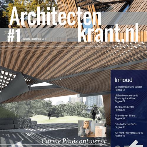 Architectenkrant nummer 1