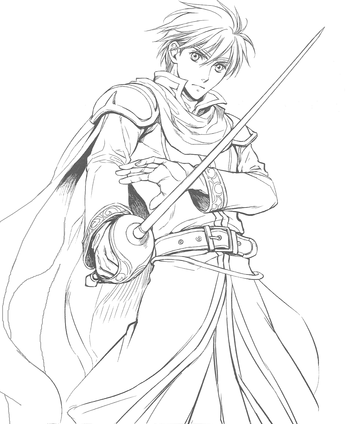 Fire Emblem Coloring Pages