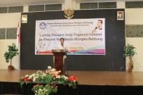 Sambutan Ketua Panitia Lomba Pewara Prima Hariyanto, S.Hum.