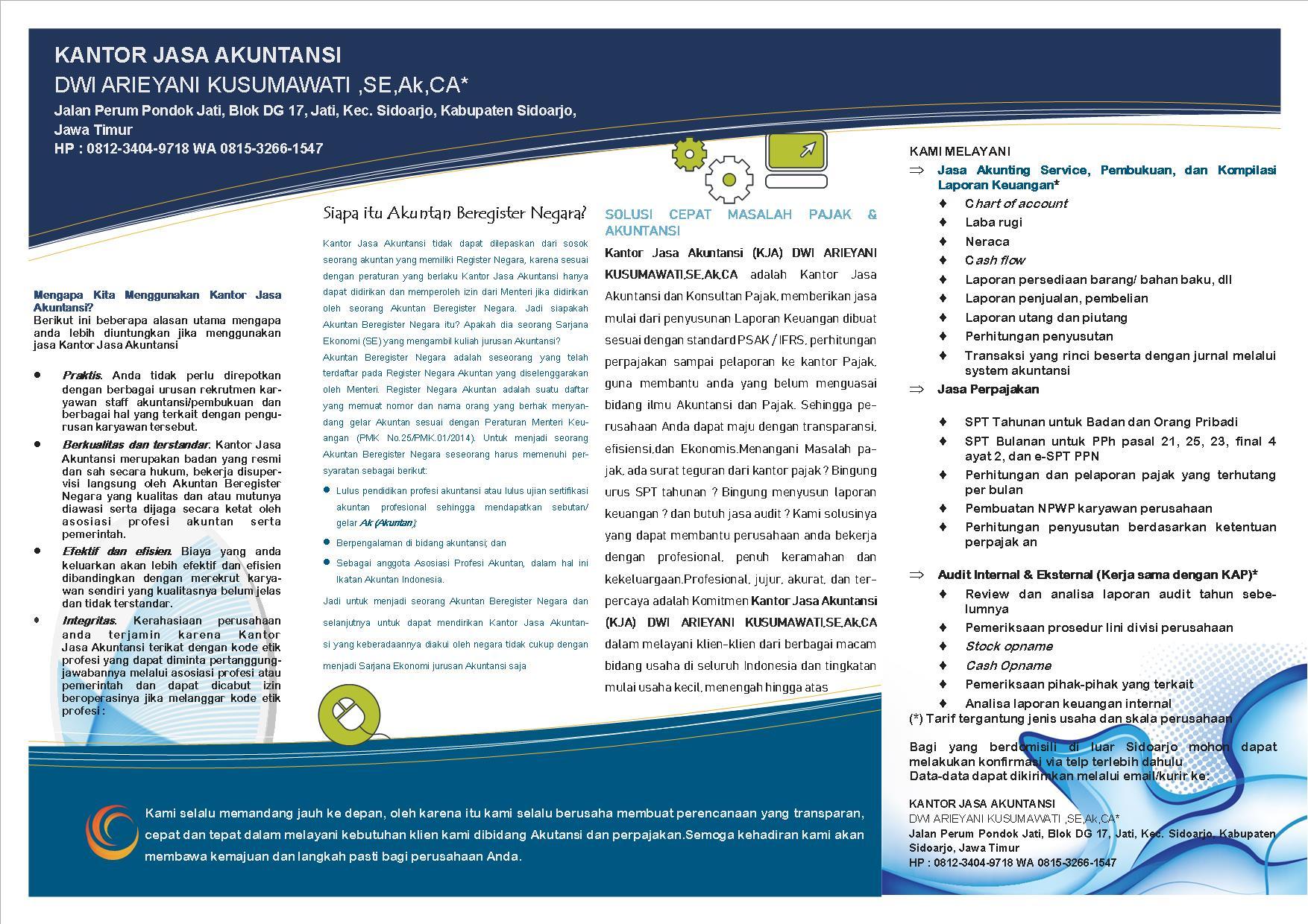 Layanan Kami Kantor Jasa Akuntansi Dan Konsultan Pajak