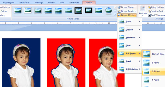 edit foto dengan ms word