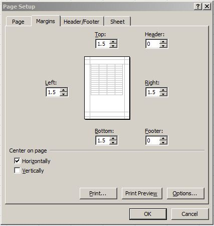 Tip Setting Page Layout di Ms. Excel 3