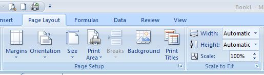 Tip Setting Page Layout di Ms. Excel