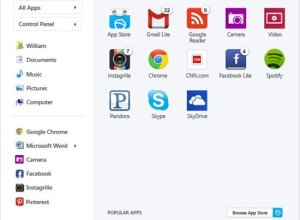 Pokki Program Start Menu untuk Windows 8