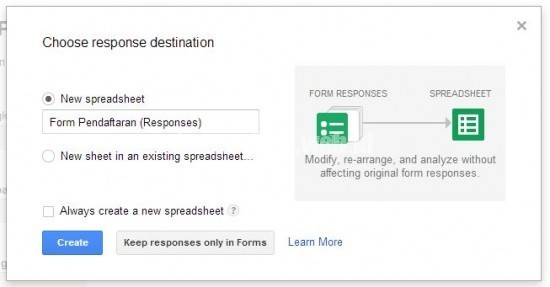 Membuat Google Form 5