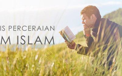 YUK KETAHUI JENIS-JENIS PERCERAIAN DALAM ISLAM!