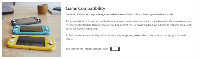 Nintendo Switch Lite compatibility.PNG
