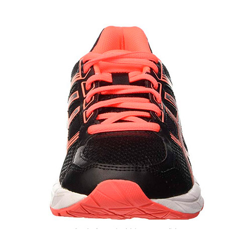 Zapatilla Asics Gel Contend 4 Negro Coral Mujer