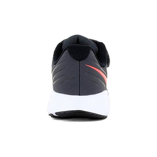 Zapatilla Nike Running Niño Star Runner Velcro Antracita
