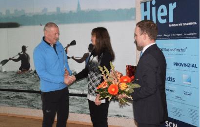 Auszeichnung für Kanutrainer Klaus Dittmer