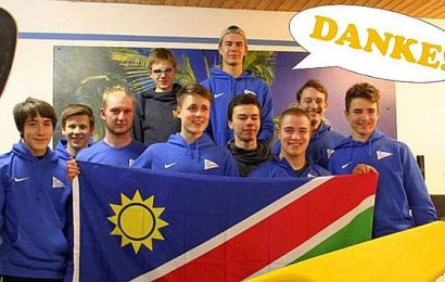 Kanu-Polo Projekt in Namibia