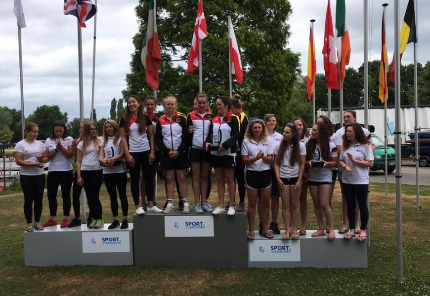 Deutsche Kanu-Polo Nationalmannschaften gewinnen ECA-Cup Gesamtwertung